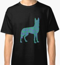 Colored Wolf  Classic T-Shirt
