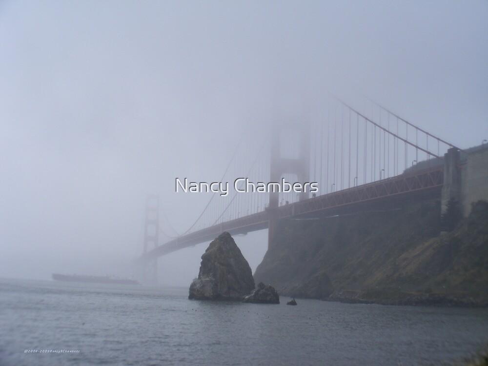 The Foggy Golden Gate by NancyC