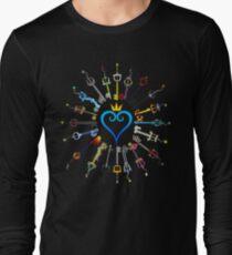Kingdom Hearts Keyblades Long Sleeve T-Shirt