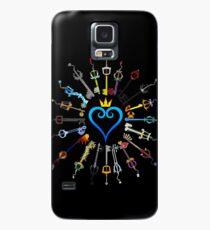 Funda/vinilo para Samsung Galaxy Llaveros de Kingdom Hearts