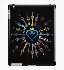 Kingdom Hearts Keyblades iPad Case/Skin