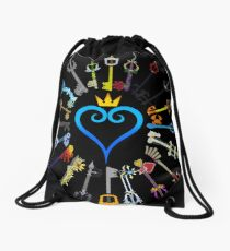 Kingdom Hearts Keyblades Drawstring Bag