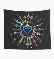 Kingdom Hearts Schlüsselschwerter Wandbehang