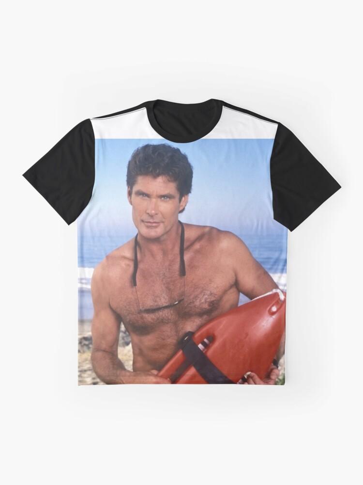 Alternative Ansicht von Der Hoff - Baywatch Grafik T-Shirt