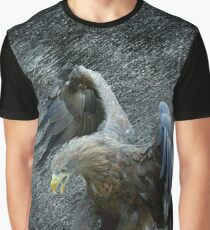 EAGLE IN FLIGHT Graphic T-Shirt