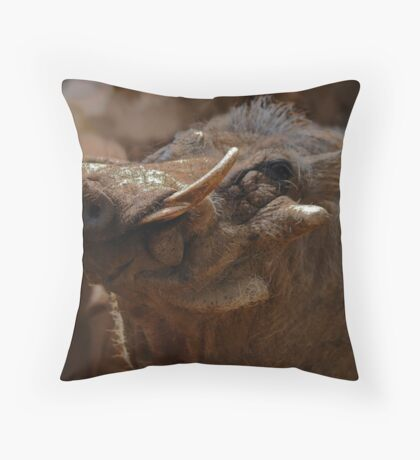 Beauty in the beast Throw Pillow