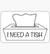 Tish Sticker