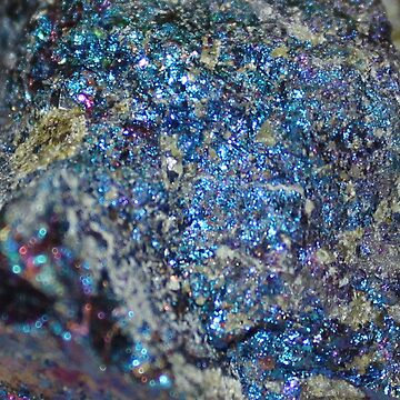Peacock Stone Glitter by chihuahuashower