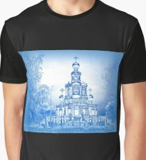Church of the Intercession at Fili, Moscow, Russia Graphic T-Shirt