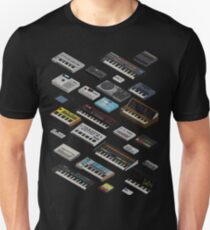 Synthesizer Fan Collection Unisex T-Shirt