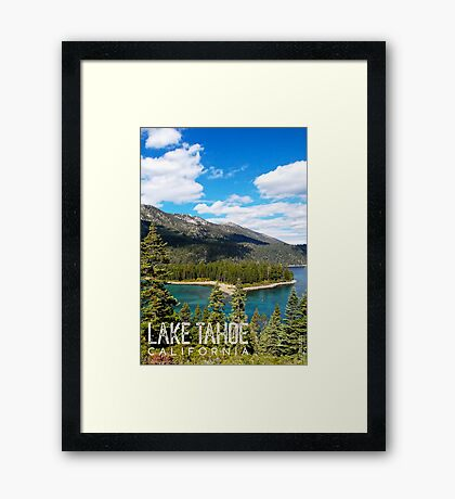 View of Emerald Point Framed Print