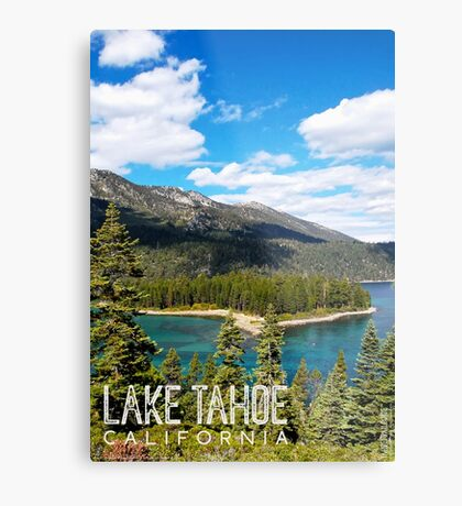 View of Emerald Point Metal Print