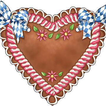 Gingerbread heart by ARTemyzz