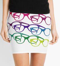 Audrey Hepburn pop art glasses Mini Skirt