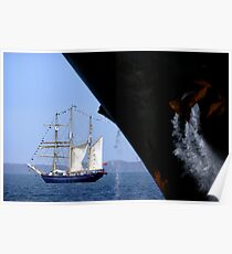Sail And Anchor 1, Fremantle, Western Australia. Poster