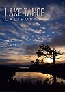 Sunrise at Cascade Lake and Lake Tahoe by Jared Manninen