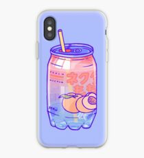 Peach Bubbles iPhone Case