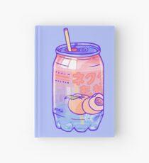 Pfirsich-Blasen Notizbuch