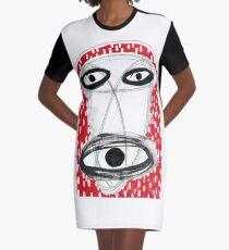 Metanimal - atomic been, mushroom god Graphic T-Shirt Dress