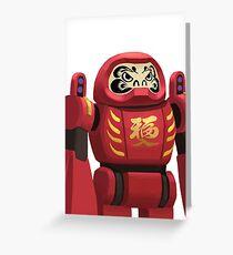 DARUMA Bot  Greeting Card