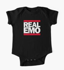 Real Emo Short Sleeve Baby One-Piece