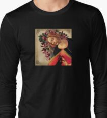She Wore a Crown of Amaryllis Long Sleeve T-Shirt
