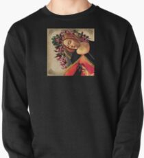 She Wore a Crown of Amaryllis Pullover Sweatshirt