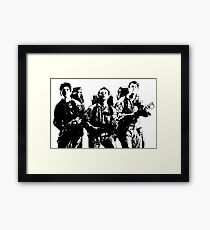 The Ghostbusters! Framed Print