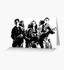 The Ghostbusters! Greeting Card