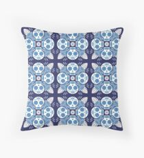 Calavera Talavera Throw Pillow
