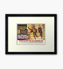 Butch Cassidy und das Sundance Kid Gerahmtes Wandbild