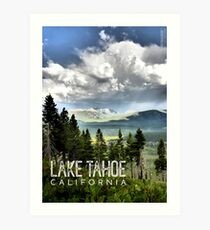 Storm Clouds Over Freel Peak (Lake Tahoe, CA) Art Print