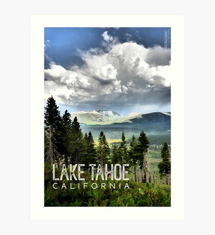 Storm Clouds Over Freel Peak (Lake Tahoe, CA) Art Print