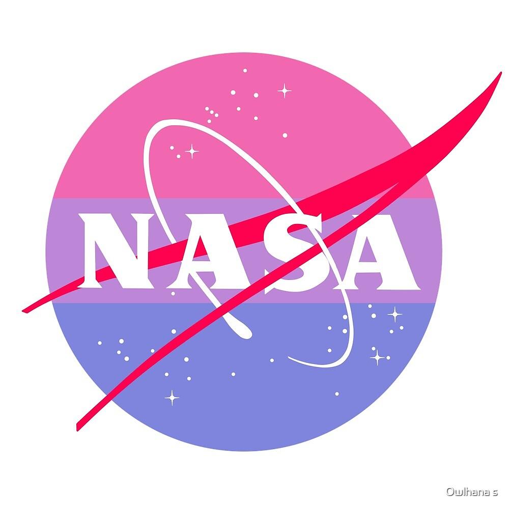 Pastel NASA Logo - Bi by Hijinata