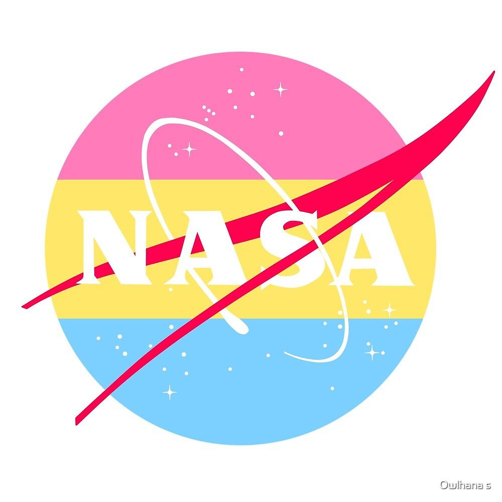 582d8b7b4 Pastel NASA Logo - Pan