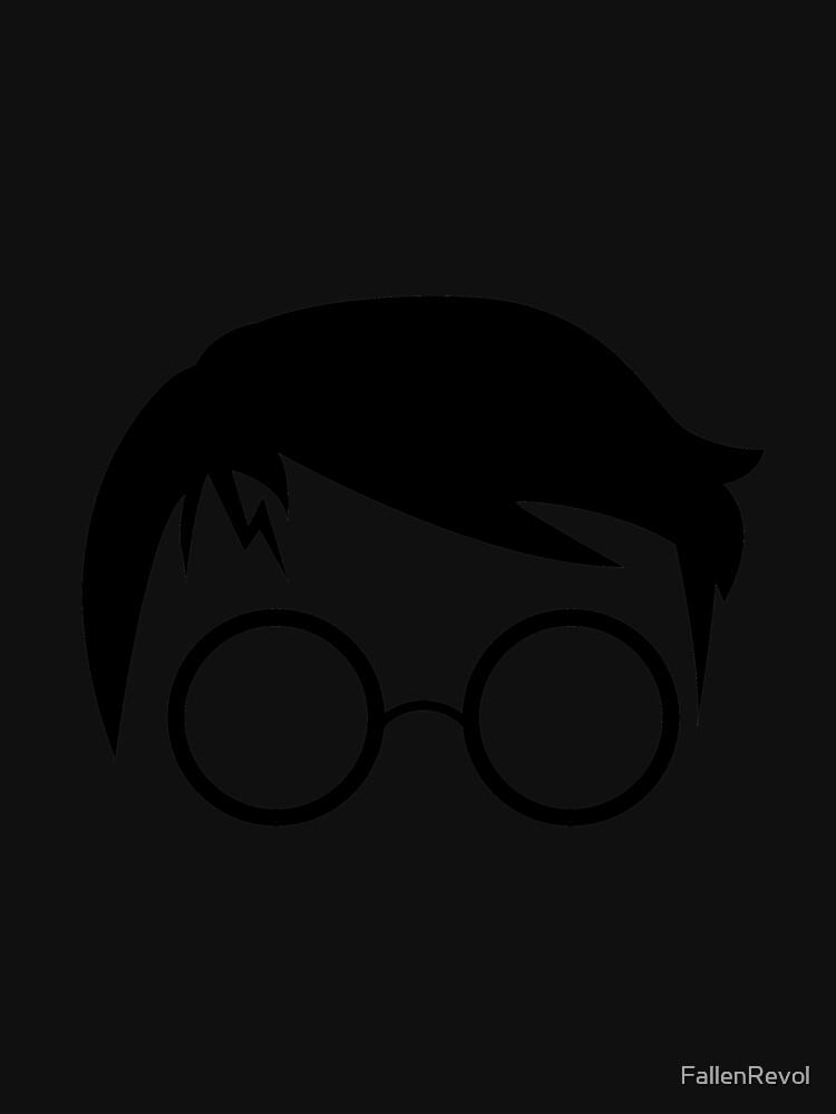 Man Wearing Reading Glasses  by FallenRevol