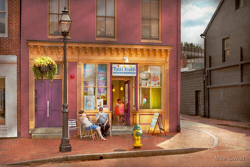 City - Annapolis MD - Tutti Fruitti Couples by Michael Savad