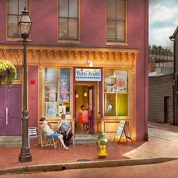 City - Annapolis MD - Tutti Fruitti Couples by mikesavad