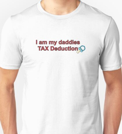 Daddies Tax Deduction - Boy T-Shirt