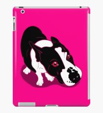 Mr Bull Terrier Pink iPad Case/Skin