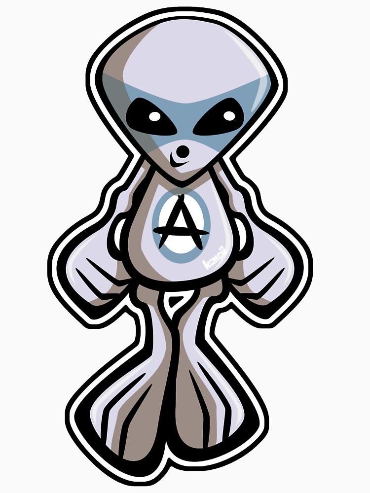 Alien Mascot by KawaiiPunk