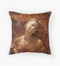 Maiden of the Shield Throw Pillow