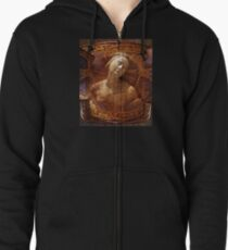 Maiden of the Shield Zipped Hoodie