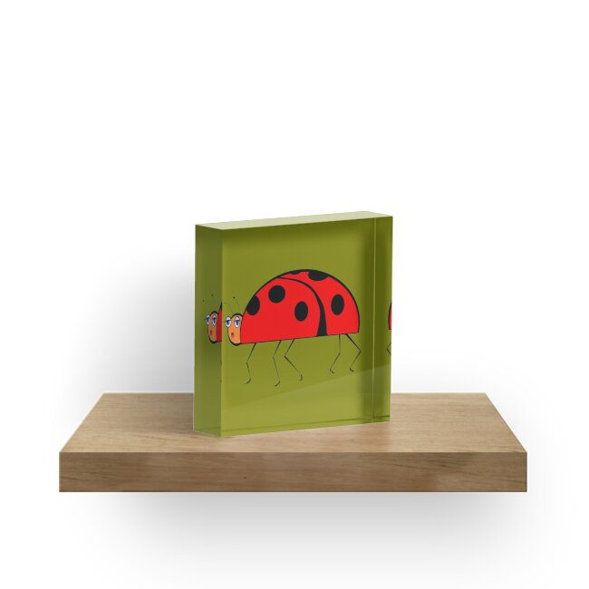 A Ladybug in Black Stockings and Stilettos by Judy Snyder
