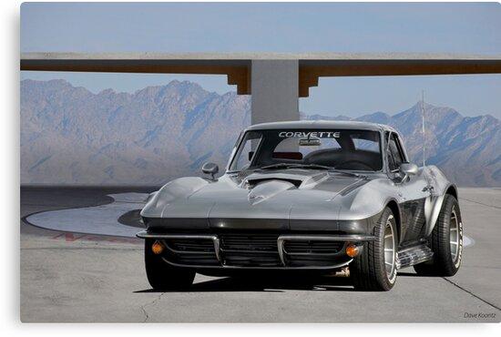 1963 Corvette C2 Split-Window Stingray I by DaveKoontz
