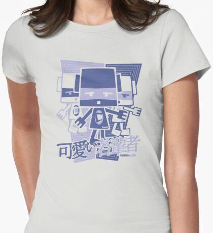 Cubist Mascot Stencil T-Shirt