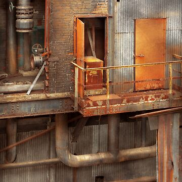 Steampunk - Plumbing - Plumbers dilema by mikesavad