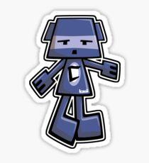 Cubist Mascot Sticker