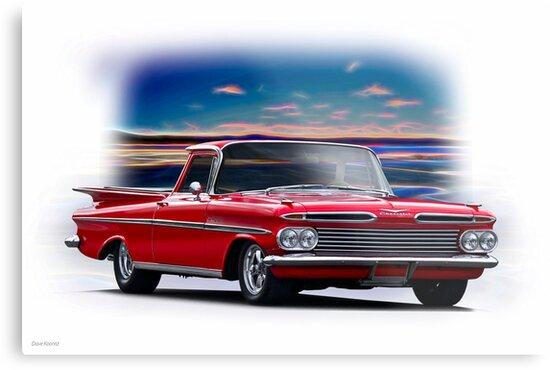 1959 Chevrolet El Camino II by DaveKoontz