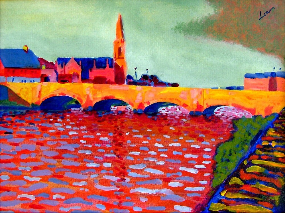 Ballina, County Mayo, Ireland by eolai